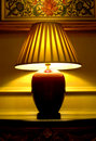 Classic table lamp Royalty Free Stock Photos