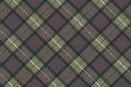 Classic tartan check plaid seamless pattern Royalty Free Stock Photo