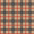 Classic tartan fabric Stock Photos