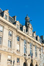 Classic townhouse in downtown paris france Royalty Free Stock Images