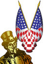 Classic Uncle Sam Stock Photography