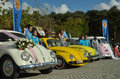 Classic Volkswagen Beetle car Royalty Free Stock Photo