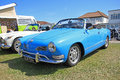 Classic volkswagen karmann ghia car Royalty Free Stock Photo