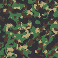 Classic woodland seamless  camo pattern Royalty Free Stock Photo