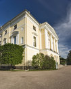 Classical building with columnes Royalty Free Stock Photo