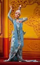 Classical burmese dance Royalty Free Stock Photos
