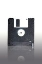 Classical floppy disk 3.5 Royalty Free Stock Images