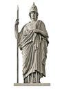 Classical Greek Goddess Athena...