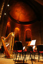 Classical music concert-stage Stock Photo
