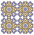 Classical oriental pattern style traditional design Royalty Free Stock Images