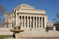 Classical style college building columbia university nyc Stock Photos