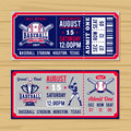 Classical tickets to the championship baseball and softball