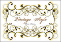 Classical vignette Royalty Free Stock Photo