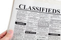 Classified Ad Royalty Free Stock Photo