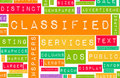 Classified Ads Royalty Free Stock Photo