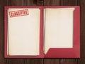 Classified folder Royalty Free Stock Photo