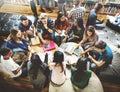 Classmate Classroom Sharing International Friend Concept Royalty Free Stock Photo