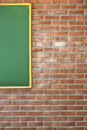 Classroom wall Stock Photo