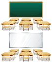 Classrooms Photographie stock