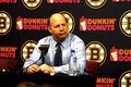 Claude Julien Boston Bruins Royalty Free Stock Photography