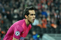 Claudio bravo portrait photo was taken during the match between shakhtar donetsk ukraine real sociedad san sebastian spain efa Royalty Free Stock Image