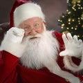 Claus santa Royaltyfri Fotografi