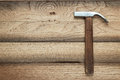 Claw hammer on the table Royalty Free Stock Image