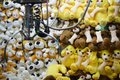 Claw Machine - Soft Toys Royalty Free Stock Photo
