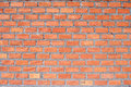 Clay brick wall Stock Image