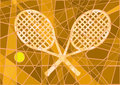 Clay court tennis Stock Photography