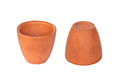 Clay cups Royalty Free Stock Photos