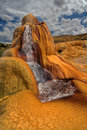 Clay Geyser Royalty Free Stock Photo