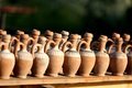 Clay jugs Royalty Free Stock Photo