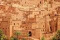 Clay kasbah Ait Benhaddou, Morocco Royalty Free Stock Photo
