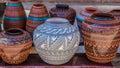 Clay Pots, Santa Fe, New Mexico Royalty Free Stock Photo