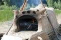 Clay stove Royalty Free Stock Photo