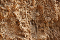 The clay surface of breakage Royalty Free Stock Images