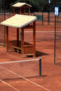 Clay Tennis court Stock Images