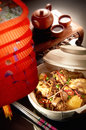 Claypot Chicken Rice Royalty Free Stock Image