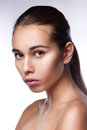 Clean beauty portrait Royalty Free Stock Image