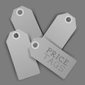 Clean Design Vector Price Tags Stock Images