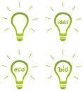 Clean energy concept illustration vector Stock Photos