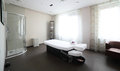 Clean european massage room luxury and very in style Royalty Free Stock Photography