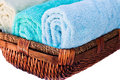 Clean fresh towels Royalty Free Stock Photo