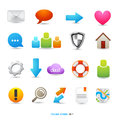 Clean Icon Designs Stock Image