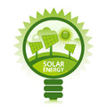Clean Solar Energy Stock Images