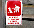 Clean Up Sign Royalty Free Stock Photo