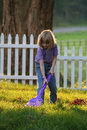 Clean up the World One Yard at a Time Royalty Free Stock Photo