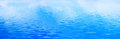 Clean water background, calm waves. Banner, panorama Royalty Free Stock Photo
