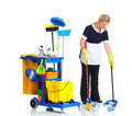 Cleaner. Royalty Free Stock Photo